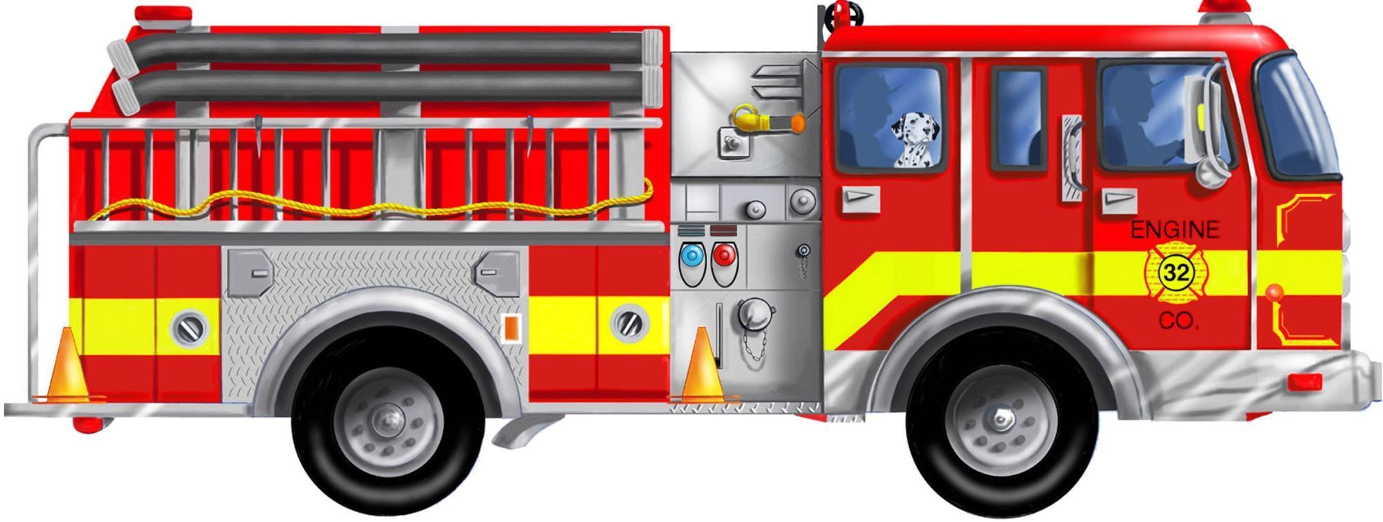 CARTOON IMAGES, ART INSERTS » firetruck (18)